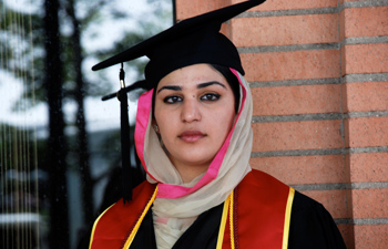 "Natasha Khan is considering returning to her homeland of Pakistan to teach in Chitral at all-girl schools targeted by the Taliban. ""To fight against them,"