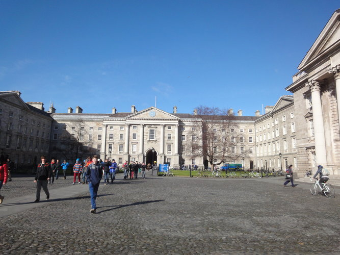 Ireland - Dublin TCD > USC Dana and David Dornsife College of