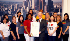 L.A. City Council Honors JEP