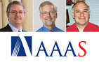 The American Association for the Advancement of Science (AAAS) has elected as fellows USC Dornsife's Donal Manahan, professor of biological sciences and vice dean of students; Anthony Michaels, professor of biological sciences; and Mathew McCubbins, provost professor of business, law and political economy. Manahan photo by Jie Gu; Michaels photo by Phil Channing, McCubbins photo courtesy of Mathew McCubbins.