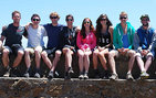 USC Dornsife junior and senior geology majors in Malaga, Spain. Photo courtesy of John Platt.