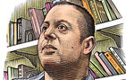 An assistant professor of linguistics since Fall 2011, Khalil Iskarous spent a decade as a research scientist at Haskins Laboratories in New Haven, Conn. A Fulbright scholar, Iskarous was born and raised in Cairo, Egypt. While in middle school, he and his family moved to New York. Illustration by Bill Sanderson.