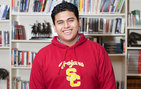 While caring for his family during Hurricane Sandy, Luis Hernandez was preparing for an interview in New York for acceptance into the USC Posse Scholars Program. He arrives at USC Dornsife in August. Photo by Bethany Bandera.