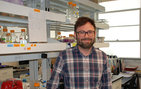 Named a <em>ChemComm</em> 2013 Emerging Investigator, USC Dornsife's Matt Pratt received a Michael J. Fox Foundation grant for research into treatment for Parkinson's disease. Photo by Susan Bell.