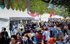 As many as 150,000 guests attended the 19th annual <em>Los Angeles Times</em> Festival of Books held at USC April 11 and 12. Photo by Gus Ruelas.