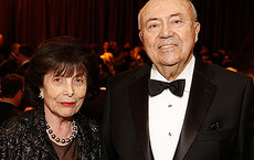 While still children, both Erna and Andrew Viterbi fled Europe and came to the United States with their families before World War II due to growing anti-Semitism. Their $5 million gift to USC Shoah Foundation will boost efforts to share testimonies of Holocaust and genocide survivors around the world. Photo by Steve Cohn.
