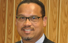 Rep. Keith Ellison, first Muslim member of Congress, will discuss Muslims in public service at USC on Sept. 5. Photo courtesy of ellis.house.gov.