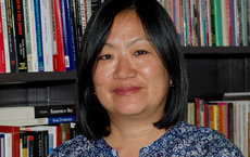 The American Political Science Association recognized Jane Junn's book, in part, for including innovative data analysis, which drew from five surveys. Photo by Lizzie Hedrick.
