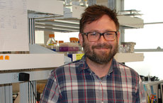 Matthew Pratt's research aims at understanding and stymieing cancer. Photo by Susan Bell.