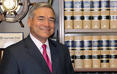 Many members of alumnus Judge Frederick Aguirre's family served in the U.S. military. A California Superior Court judge, Aguirre shares the patriotic contributions of Latinos through his nonprofit  Latino Advocates for Education. Photo courtesy of Frederick Aguirre.