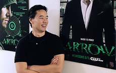 Alumnus Oscar Balderrama is a script coordinator on the popular television show <em>Arrow</em>. He earned his bachelor's degree in creative writing from USC Dornsife in 2005. Photo courtesy of Oscar Balderrama.