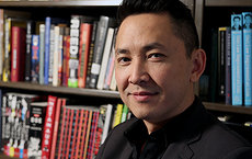 Viet Thanh Nguyen escaped Saigon with his family in 1975, arriving in the U.S. when he was four years old. Photo by Matt Meindl.