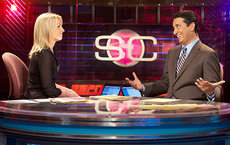 The study examined coverage of women's sports by LA network affiliates and ESPN's <em>SportsCenter</em>, seen here. Photo courtesy of ESPN.com.