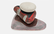 "Pieces such as this untitled pebble sculpture helped build Dadaist Kurt Schwitters' reputation as the  ""father of installation art."" Assistant Professor Megan Luke of art history chronicles the artist's struggles under Nazism and in later exile."