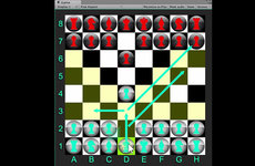 In Quantum Chess, pieces can be in two places at once (quantum superposition) if the player chooses a quantum move.