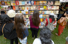 Thousands will gather at USC's University Park campus to share their love of the written word and enjoy readings, panel discussions, music and more at the 21st annual Los Angeles Times Festival of Books. Photo by Gus Ruelas.