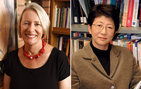 Carol Wise and Saori Katada, associate professors of international relations in USC College, spearheaded the Pacific Rim project, working with College and USC Marshall School of Business faculty. Wise photo credit Steve Cohn. Katada photo credit Pamela J. Johnson.