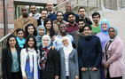 The 2010-11 cohort of AMCLI fellows. Photo by Sumaya Abubaker.