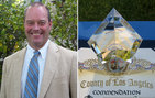 Bill Deverell received a 2011 Gold Crown Award from the Pasadena Arts Council at a ceremony on June 10. Photo courtesy of the Pasadena Arts Council.