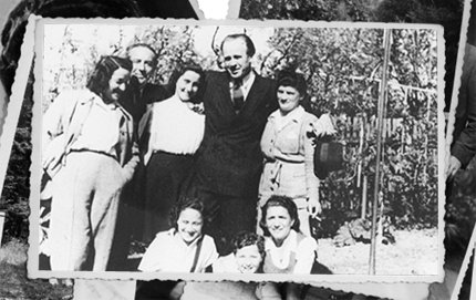 Oskar Schindler (second from right) puts a face on good human conduct, a theme explored in Glenn Fox's research on gratitude. The research of USC Dornsife's Fox has earned him an award from the Oskar Schindler Humanities Foundation. Schinder, who outwitted Hitler and the Nazis to save more Jews from the gas chambers than any other during World War II, is pictured here in Munich, Germany in 1946 with some of the people he rescued. Copyright © United States Holocaust Memorial Museum, Washington, D.C./Leopold Page Photographic Collection.