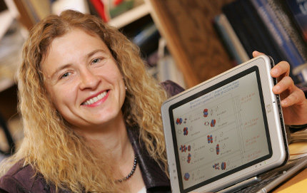 Anna Krylov is professor of chemistry in USC Dornsife and the paper's co-corresponding author. Photo by Phil Channing.