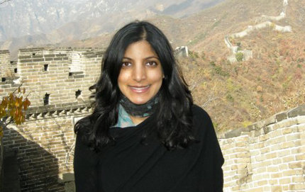 USC Dornsife alumna Parita Shah, vice president at APCO Worldwide, credits her parents for her passion for politics and public service. During the course of her career, she has worked for Bill Clinton, Barack Obama and Los Angeles Mayor Antonio Villaraigosa, among others. Last fall, she spent two months in Beijing as the senior adviser to the newly appointed U.S. Ambassador to China Gary Locke. Photo courtesy of Parita Shah.