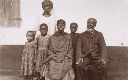 Missionary Rudolf Fisch captured this photograph, part of the International Mission Photography Archive, in early 20th-century Ghana. Photo courtesy of the Basel Mission Image Archive.