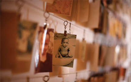 The USC Shoah Foundation is incorporating testimonies into its Visual History Archive from Rwandan genocide survivors and will soon include testimonies from survivors of the Cambodian and Armenian genocides. This photo of a Rwandan child is displayed as part of a gallery of genocide victims in the Kigali Memorial Centre in Kigali, Rwanda. Photo by Jason Reed and courtesy of Reuters.