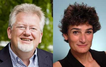 Norbert Schwarz will be Provost Professor of Psychology and Marketing and Daphna Oyserman will be Dean's Professor of Psychology, and professor of psychology, education and communication. Photos courtesy of CASBS at Stanford University.