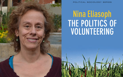 Volunteers might become more effective by spending the same amount of time as activists pressuring politicians to change policies, says Professor of Sociology Nina Eliasoph in her new book, <em>The Politics of Volunteering</em>. Photo by Erica Christianson.