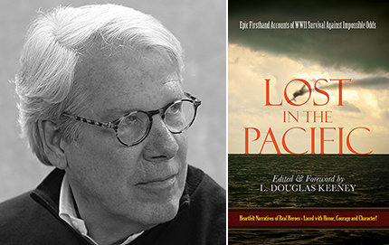 Douglas Keeney (economics, '73; MBA '76) has authored or coauthored more than a dozen historical books, which examine events such as D-Day and the Cold War. His forthcoming book is <em>Lost in the Pacific: Epic Firsthand Accounts of WWII Survival Against Impossible Odds</em>. Photo courtesy of Douglas Keeney.