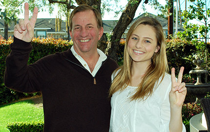 Alumnus Matthew Boone and his daughter, Emily, share the experience of participating in JEP while at USC. Photo courtesy of Matthew Boone.