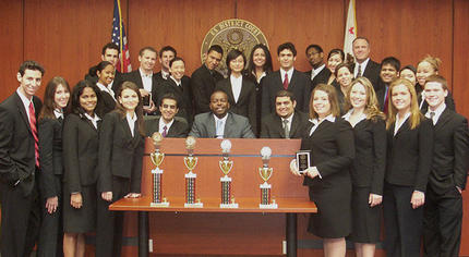 USC Mock Trial Team Sweeps Regional Competition