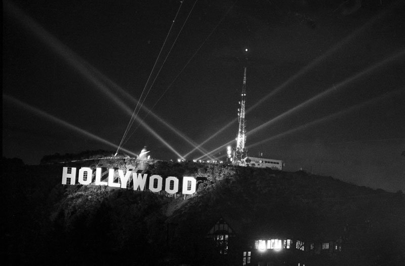 The History Of The Hollywood Sign From Public Nuisance To Symbol Of