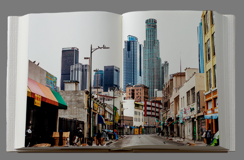 The Streets Of Skid Row In Downtown Los Angeles. Image By Matthew Savino.
