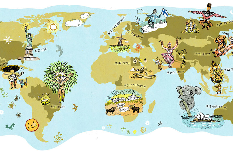 Happiness Around the Globe > News > USC Dornsife