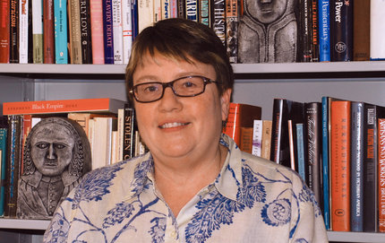 Karen Halttunen of USC College was awarded a Guggenheim Fellowship that will enable her to finish her book about 19th century New Englanders. Born in Massachusetts, Halttunen has always felt a deep connection to New England. Photo credit Taylor Foust.