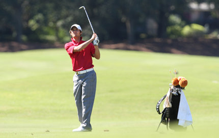 USC College alumnus Tom Glissmeyer will draw on his education as an economics major to manage his promising golf career. Photo credit USC Sports Information.