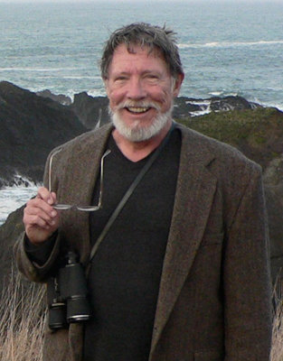 Henry Clark explores Mendocino, Calif. The professor emeritus of religion in USC College was a lover of the great outdoors. Clark died the night of July 23. Photo courtesy of the Clark family.