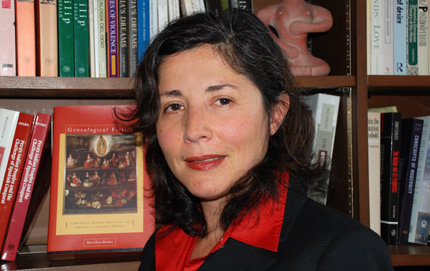 María Elena Martínez's book, which traces the purity of blood concept from 15th century Spain to the New World, has won two major awards from the American Historical Association. Photo credit Pamela J. Johnson.