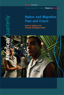 <em>American Quarterly</em>'s September 2008 Special Issue on migration earned a top award by a national organization of editors of scholarly journals. <em>American Quarterly</em> is headquartered in USC College's Department of American Studies and Ethnicity.