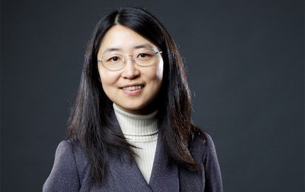 Jia Grace Lu, associate professor of physics in USC College. Photo credit Max S. Gerber.