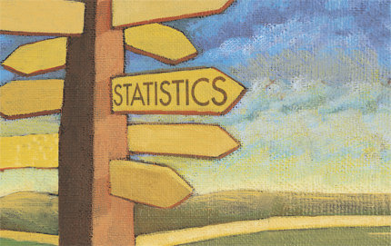 Based in USC College, the statistics minor is open to undergraduates university-wide and can enhance any major. Classes begin in the spring. Image courtesy of Amstat News and the American Statistical Association.
