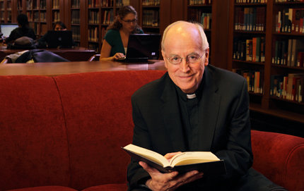 Father James Heft, Alton M. Brooks Professor of Religion in USC College, is president and founding director of the Institute for Advanced Catholic Studies. Photo credit Philip Channing.