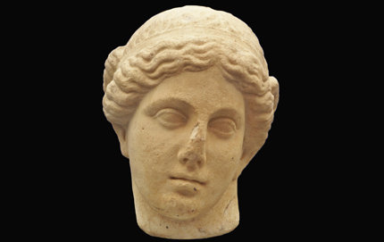 "The ""Dart Aphrodite,"" a Greco-Roman marble sculpture, dates between 100 B.C. and 100 A.D."
