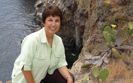 Ann Muscat (Ph.D., biological sciences, '83) is president and CEO of the Catalina Island Conservancy in Avalon, Calif. Photo by Jack Baldelli.