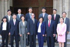 South Korean Delegation Visits USC