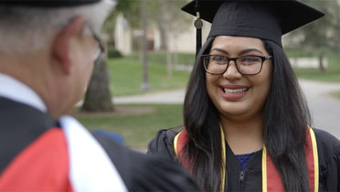 Cardinal, Gold and Rubi: First-Gen College Student's Journey