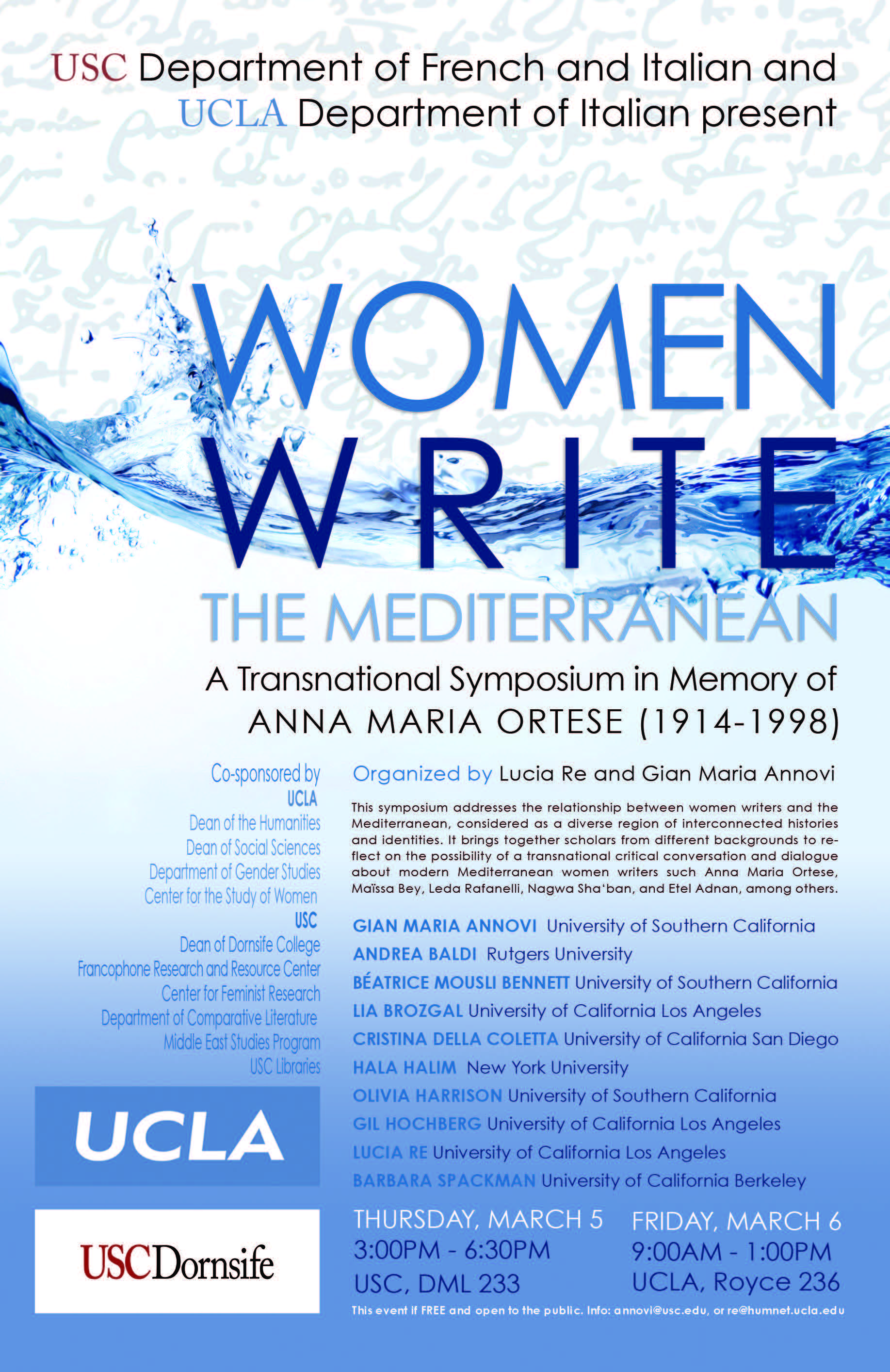 Past Events > Comparative Studies in Literature and Culture