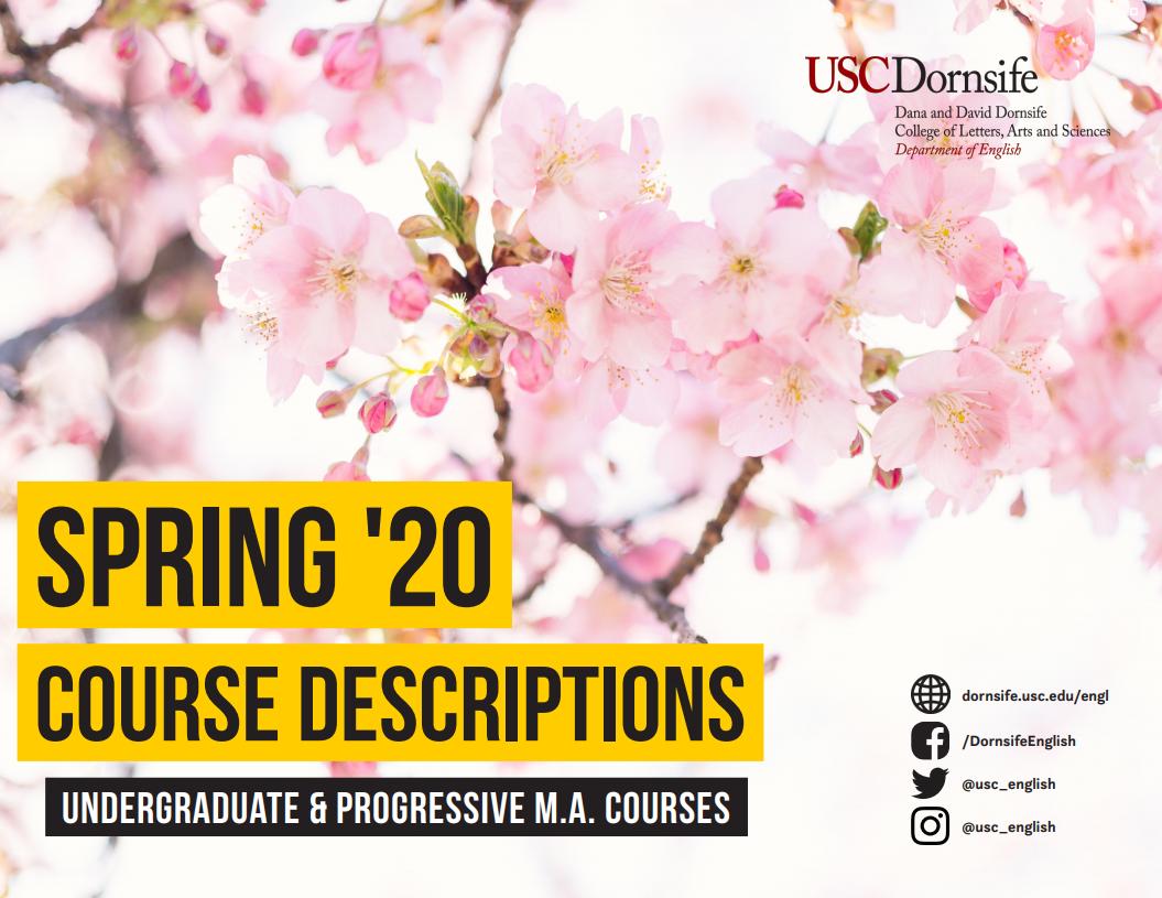 Usc Fall Semester 2020.Usc Schedule Of Classes Fall 2020 Schedule 2020